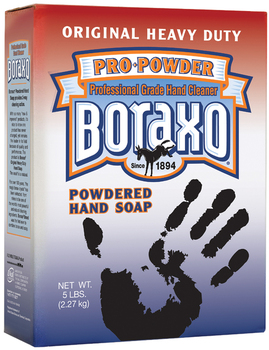 Picture of item 670-205 a Boraxo® Original Powdered Hand Soap, Unscented Powder, 5lb Box. 10/Case.