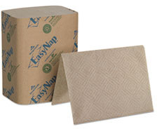 Picture of item 226-917 a Ultra® Interfold 2-Ply Napkin Dispenser Refills. Brown. 6000 napkins.