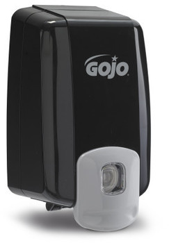 Picture of item 672-207 a GOJO® NXT® MAXIMUM CAPACITY™ Dispenser - Black.  Uses 2,000 mL NXT Refills.