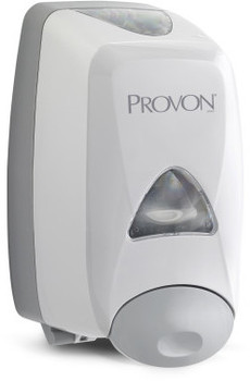 Picture of item 672-217 a PROVON® FMX-12™ Dispenser,  1250mL, 6 1/4w x 5 1/8d x 9 7/8h, Gray