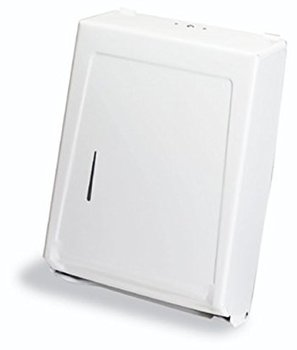 "Picture of item 888-105 a Combo Towel Cabinet for Multi-Fold or ""C"" Fold Towels. 15-3/8 X 11-1/4 X 4-1/16 in. White."